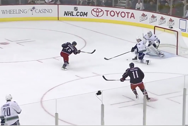 Columbus Blue Jackets Demonstration Sample