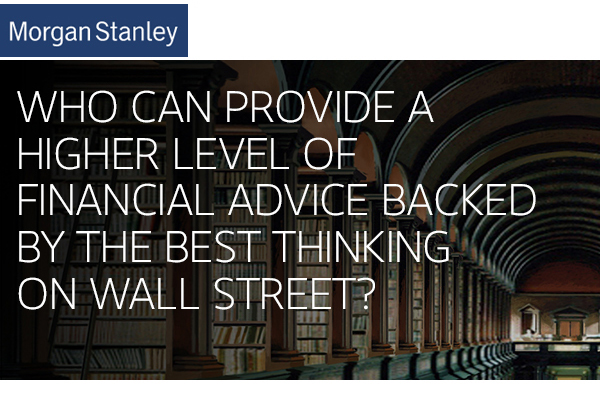 Morgan Stanley Client Advisory Center – PersoniCom Telephone Message