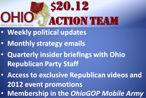 Ohio Republican Party Sample