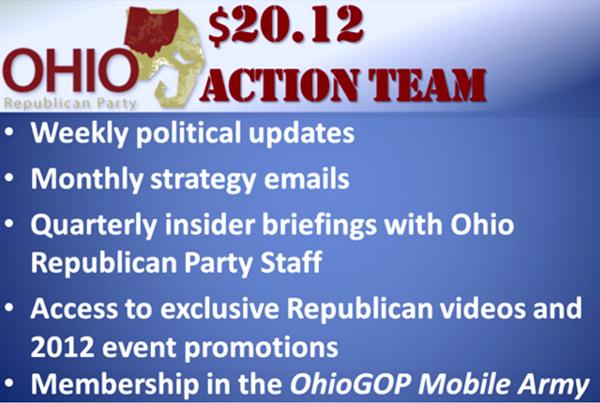 Ohio Republican Party Sample